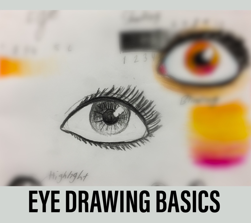 Drawing of an eye by That Art Teacher.