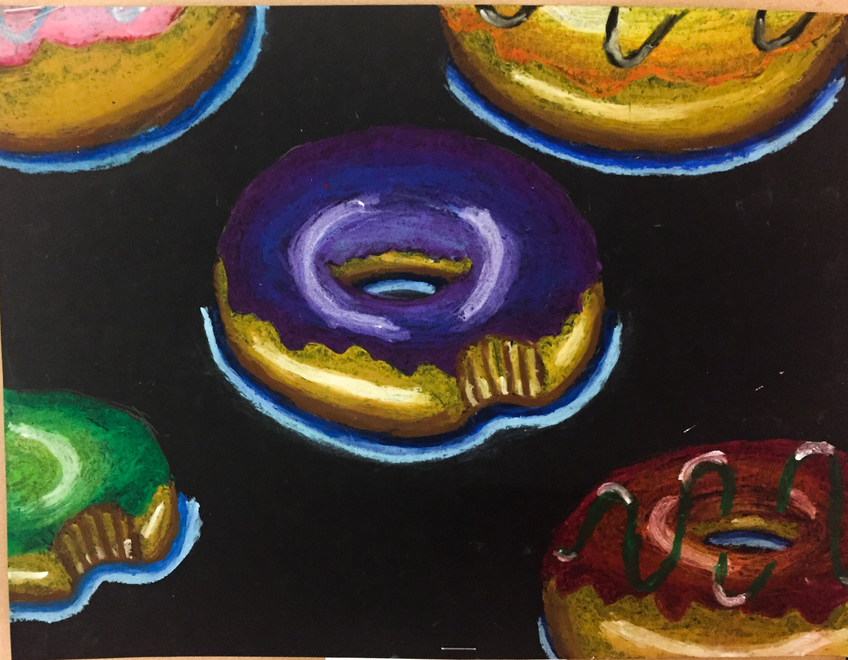 Donut Artwork: Student Work