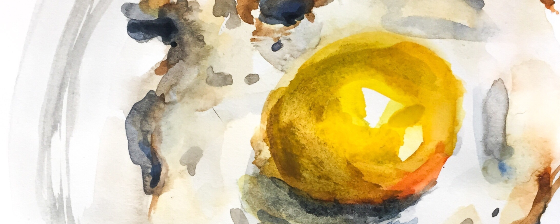 This watercolor time lapse painting will make you need to brunch ASAP.