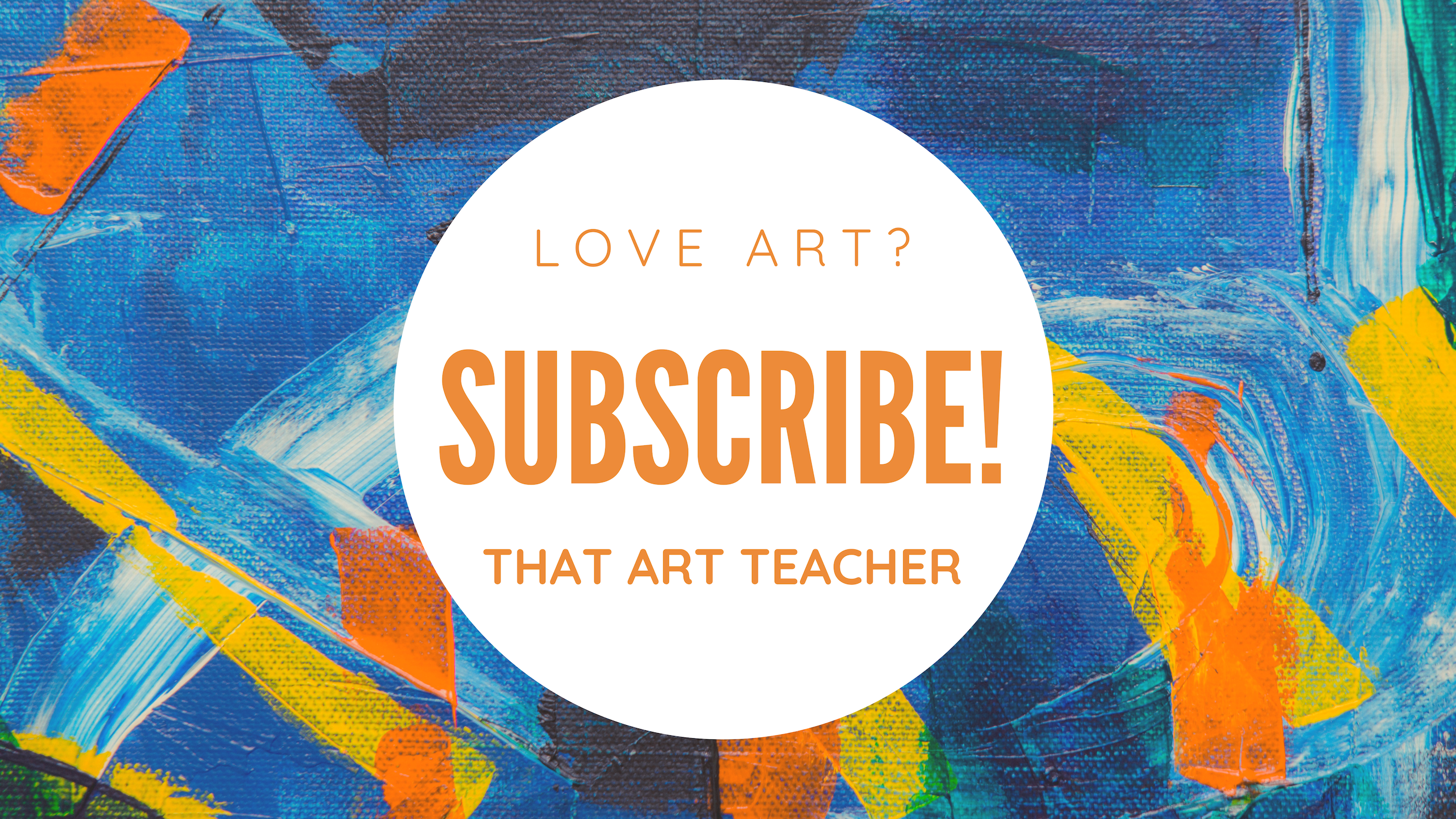 Subscribe to That Art Teacher for your daily dose of art!