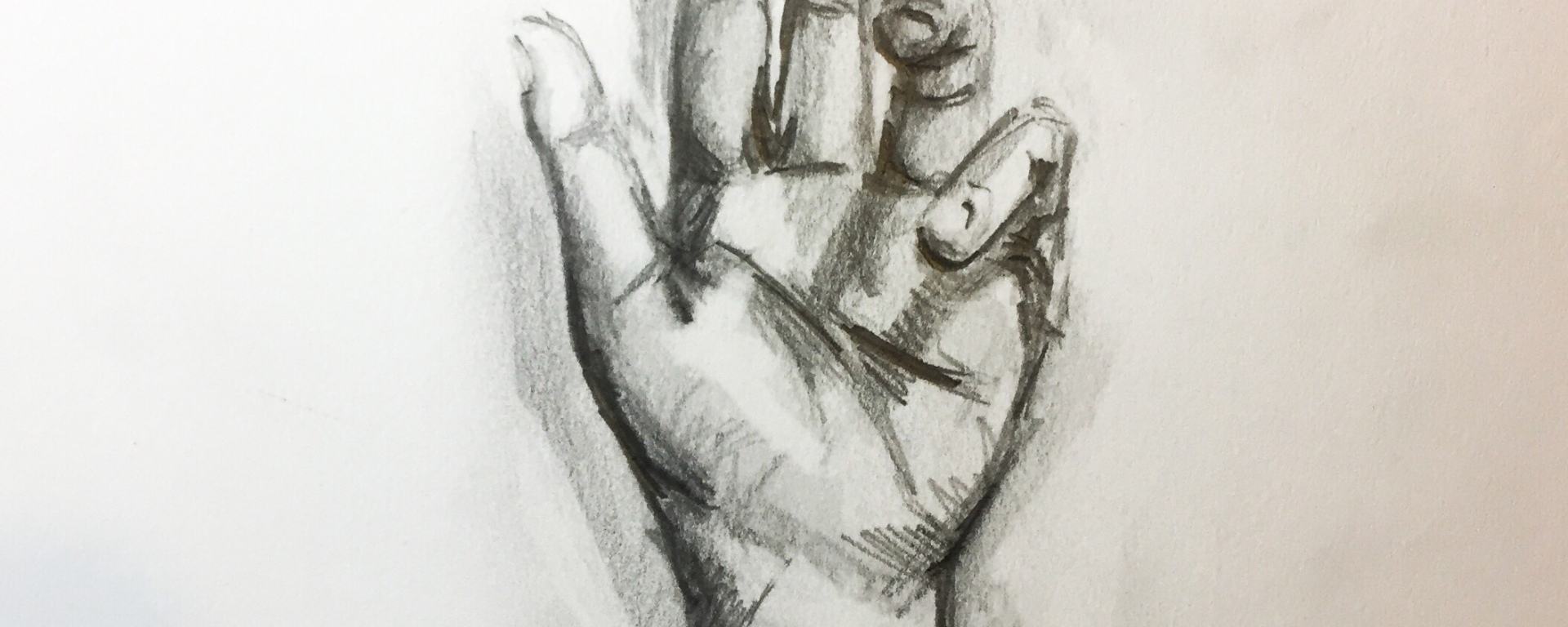 Learn how to draw a hand with this quick pencil study.