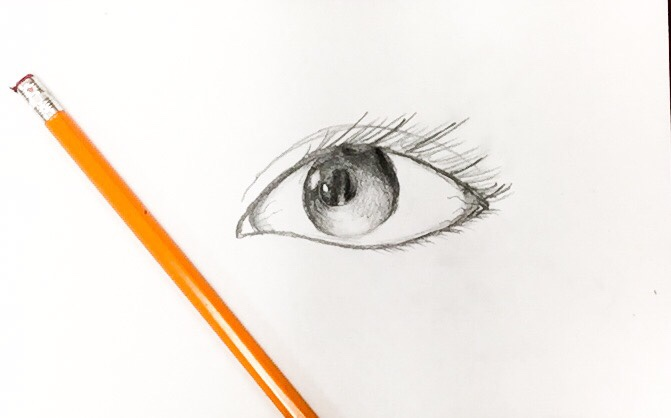 Learn how to draw a realistic eye with shading using this full guided tutorial!