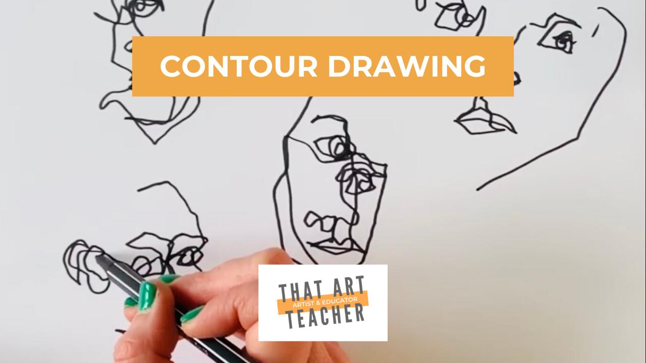 Contour Drawing Tutorial